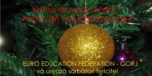 EURO EDUCATION FEDERATION: Crăciun fericit!