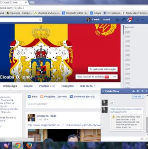 Orice atitudine împotriva abuzurilor minorităților naționale este blocată de FACEBOOK! Până când, fraților, până când?