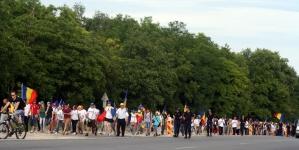 Frații de peste Prut vin să ceară Unirea la București!