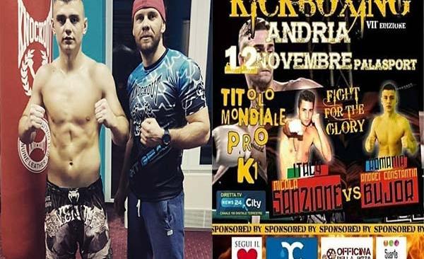 Andrei Bujor se luptă pentru titlul mondial!