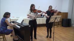 CONCERT EXTRAORDINAR! Véronique Thual Chauvel și Claire Lucie Chauvel din nou la Târgu-Jiu!