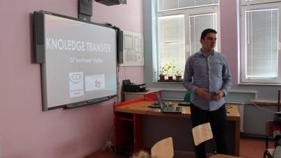 """""""Transfer de cunoștințe"""", un proiect organizat de """"Center for Education and Development""""!"""