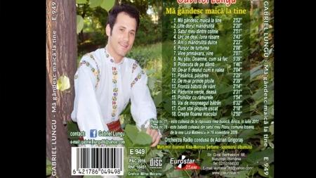 A apărut noul album muzical al artistului Gabriel Lungu!