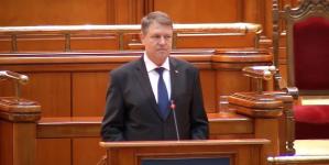 Mesajul Președintelui României, Klaus Iohannis, adresat Parlamentului României!
