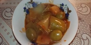 Mâncare de praz cu masline / Video