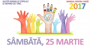 """Exclusiv: Echipa noastră alături de evenimentul """"MARȘUL PENTRU VIAȚĂ""""!"""
