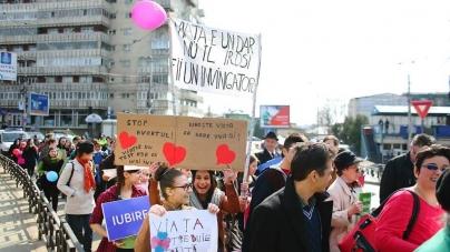 """""""Decizia de a dărui viață unui copil este o decizie a bucuriei!"""" – Mesajul Coaliției pentru Familie și al Platformei civice ÎMPREUNĂ cu ocazia evenimentului """"Marșul pentru viață"""""""