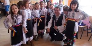 Ghiocei românești la Târgu-Secuiesc, început de primăvară.