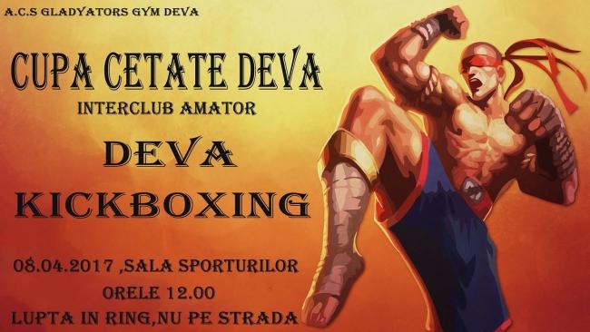 """Competiție sportivă la """"Cetatea Deva"""", organizată de  Gladyator's Gym!"""