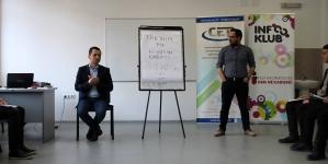 """Partenerii noștri de la """"Center for Education and Development"""" sunt administratorii unui proiect educațional la Universitatea de Stat din Tetovo, Macedonia"""