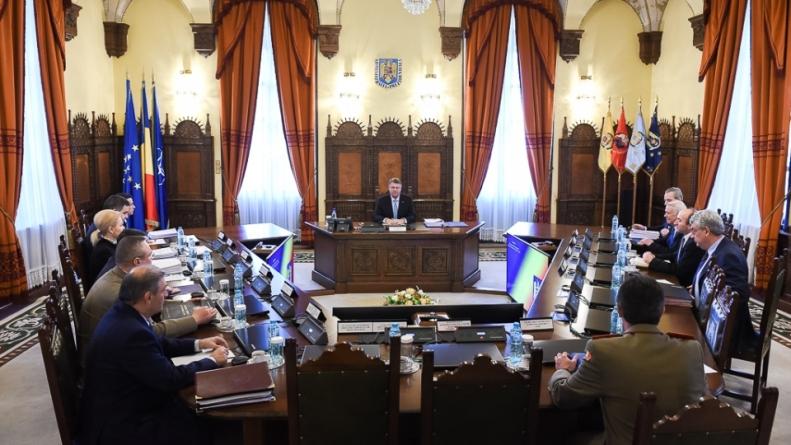 Şedinţă a Consiliului Suprem de Apărare a Țării