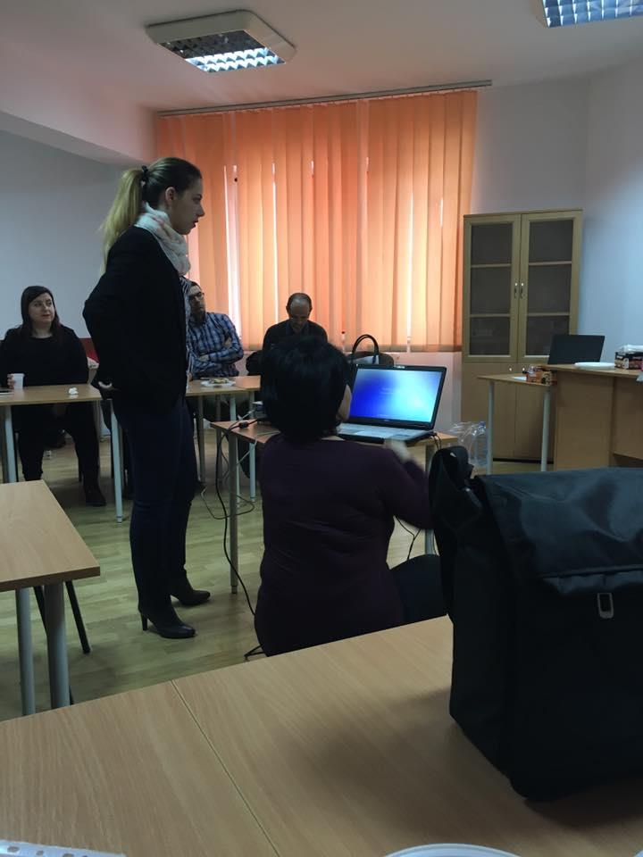 Participarea membrilor EEf la cea de a treia zi de lucrari in cadrul intalnirii de proiect