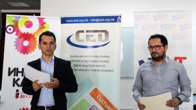 """""""Center for Education and Development – CED"""" a finalizat cu succes proiectul de la Skopje!"""
