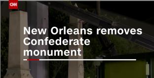 New Orleans începe demolarile controversate ale monumentelor Confederației