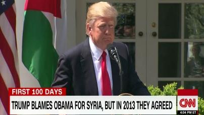 Rusia îl provoacă Trump să spună ceea ce ar face cu privire la Siria!