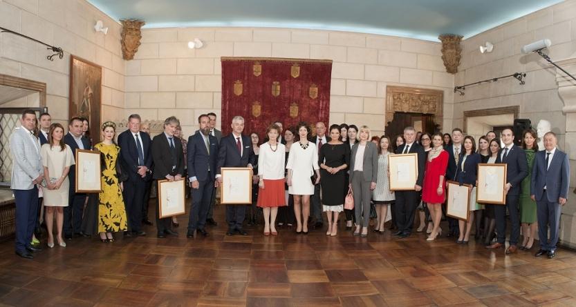 Ceremonie pentru Furnizorii Regali la Palatul Elisabeta!