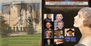 """Festivalul Naţional de Teatru """"Zilele Elvira Godeanu"""" cu mari actori ai scenei româneşti la Târgu-Jiu!"""