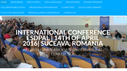 3rd Central and Eastern European LUMEN International Conference