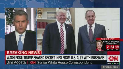 CNN: Trump a împărtășit informații clasificate cu rușii!