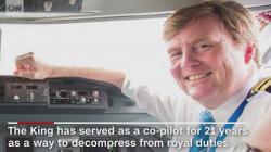 CNN: Regele olandez dezvăluie că a pilotat în mod secret zborurile KLM pentru pasageri timp de 21 de ani!
