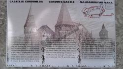 Furt la Castelul Corvinilor din Hunedoara