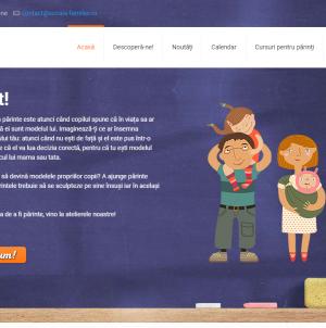"""Educație non-formală pentru părinți la """"Şcoala Familiei""""!"""