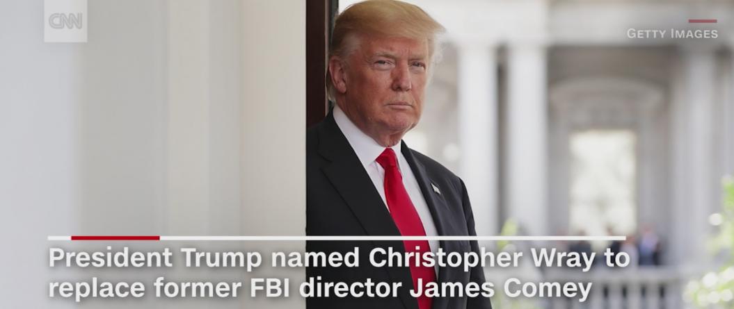 Trump intenționează să îl nominalizeze pe Christopher Wray drept director FBI!