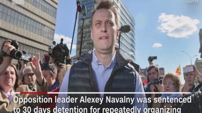 Protestele din Rusia: criticul kremlinului Navalny întemnițat, sute de persoane arestate