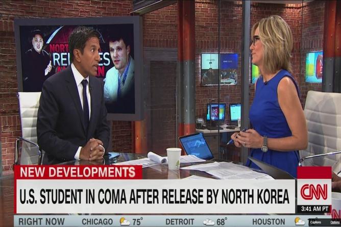 Comatose Otto Warmbier aterizează în SUA după eliberarea de către Coreea de Nord