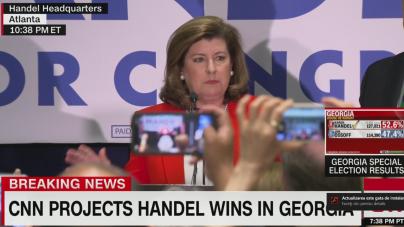Karen Handel câștigă alegerile speciale din Georgia!