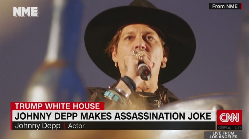 """Johnny Depp: """"Când a fost ultima dată când un actor a asasinat un președinte?"""""""