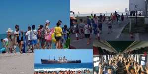 Mobilizare fără precedent! 83 de copii merg în stațiunea Costinești din inițiativa colegilor noștri de la Mic News