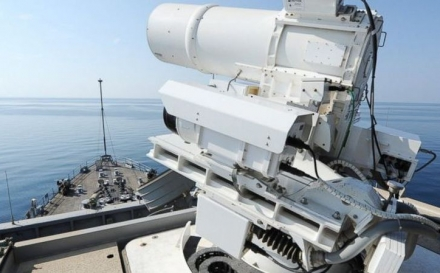 O nouă eră a armelor: SUA testează şi foloseşte prima armă cu laser!