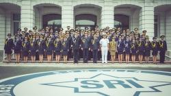 """Festivitatea de absolvire a promoției 2017 """"25 ANIMV"""" a Academiei Naționale de Informații """"Mihai Viteazul"""""""