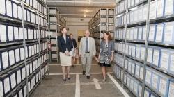 """Vizită la """"Consiliul Național pentru Studierea Arhivelor Securității"""" a Principesei Maria!"""
