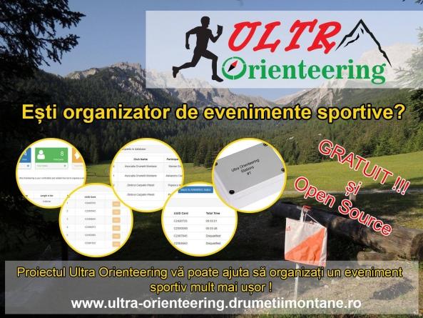 Eşti organizator de evenimente sportive?