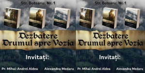 """Dezbatere pe tema """"Drumul spre Vozia"""" în Aula Bibliotecii Centrale Universitare din București!"""