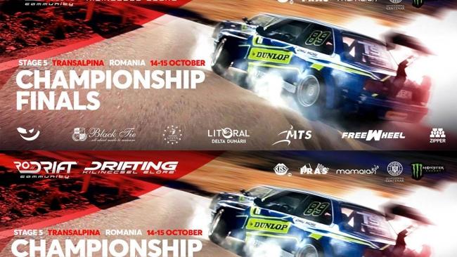 Mâine la Novaci! Finala Campionatului Național de Drift 2017
