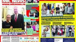 """Colegii noștri au tipărit publicația """"Mic News"""" pentru Capitală și provincie!"""