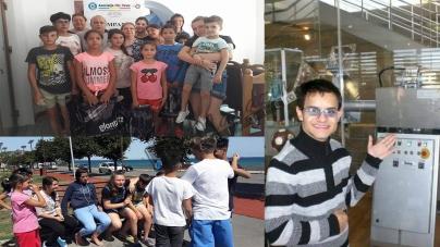 Zeci de copii din centre de plasament sau provenind din familii defavorizate vor vedea pentru prima oară muntele de sare şi salina din Slănic!