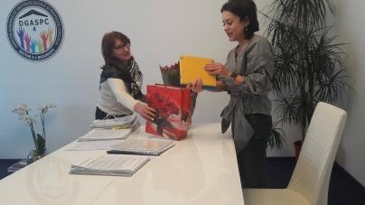 Diplomă de Merit de la Direcţia Generală de Asistenţă Socială şi Protecţia Copilului, Sector 4 pentru vicepreședintele de la Mic News! Maria Voicu