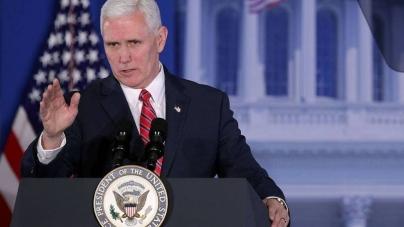 Mike Pence: Ambasada SUA din Israel va fi mutată în Ierusalim până la sfârşitul lui 2019