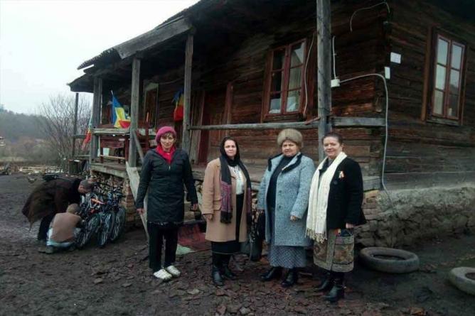 De Bobotează la familia Dăscălescu din Doboi, Harghita!