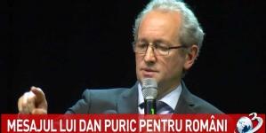 """Dan Puric: """"Mai multe abjecții, miniciuni, cinisme și perversități despre Marea Unire ca acum nu am văzut niciodată… Azi se scrie istoria după cum se dă lumină de la Bruxelles."""""""