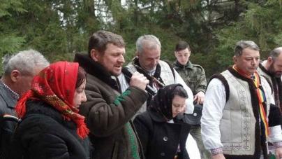 Calea Neamului și Frăția Ortodoxă Sfântul Mare Mucenic Gheorghe împreună în Poiana Sântiliei din Zăbala