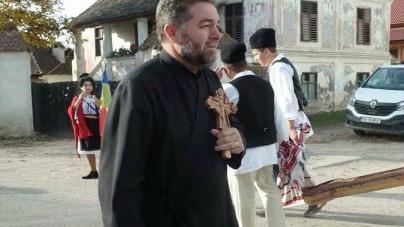 Duminică, 1 septembrie, prima zi a Anului Bisericesc, la Vârghiș, satul din jud. Covasna cu numai 4 enoriași ortodocși.