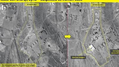 Iranul construieşte o bază militară lângă Damasc, de unde poate lovi Israelul