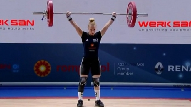Elena Andrieş, trei medalii de aur la Campionatele Europene de haltere