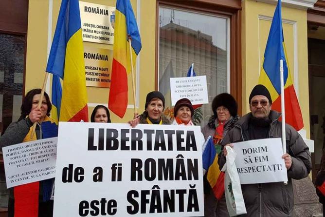 Românii din Harghita şi Covasna şi Papalitatea