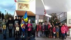Haină nouă, românească, de Ziua Învierii pentru copiii corului Bisericii Ortodoxe din Sfântu-Gheorghe!